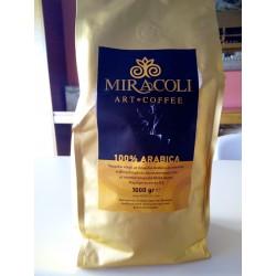 Espresso blend Miracoli 100% arabica.