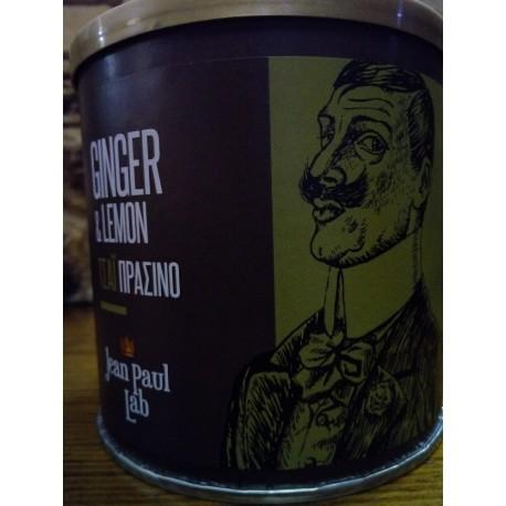 Τζίντζερ & Λεμόνι,πράσινο τσάι,jean paul lab.100gr.