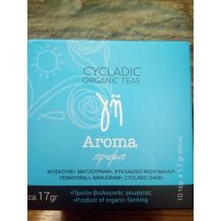 """Ρόφημα """"Άρωμα''Γη,cyclades organics."""